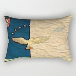 azores art flag Rectangular Pillow