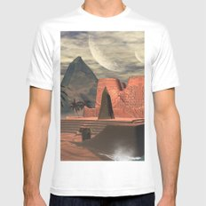 The temple White MEDIUM Mens Fitted Tee