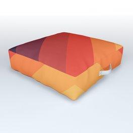 Modern geometric art XIV Outdoor Floor Cushion