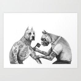 The Tattooist Art Print