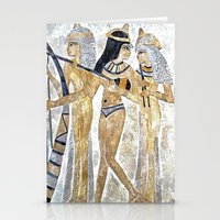 egyptian Stationery Cards featuring Egyptian Musicians by Brian Raggatt