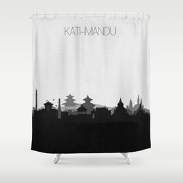 City Skylines: Kathmandu Shower Curtain