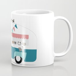 Happy Camper Kitties Coffee Mug