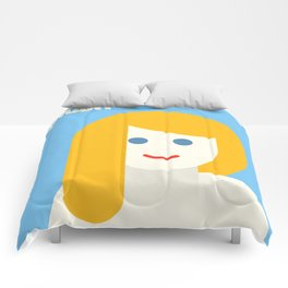 Blonde Are Smarts! Comforters