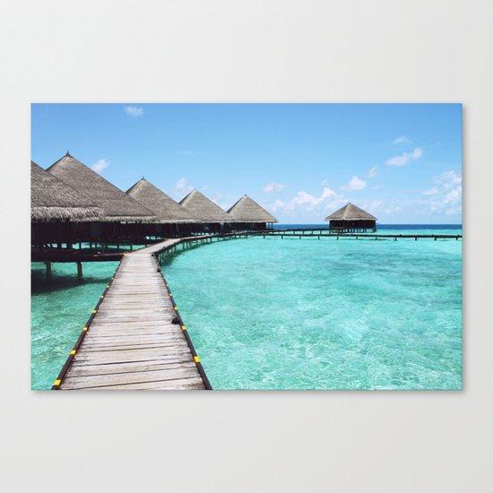 Paradise beach Canvas Print