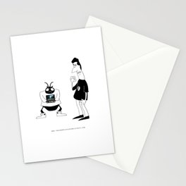The Unemployed - Sam&Yoko Stationery Cards
