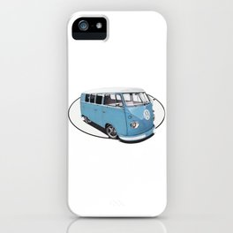 Classic Window Bus iPhone Case