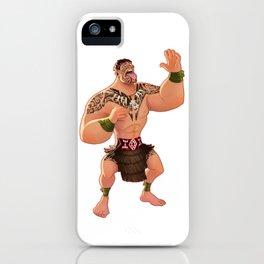 Maori Warrior iPhone Case