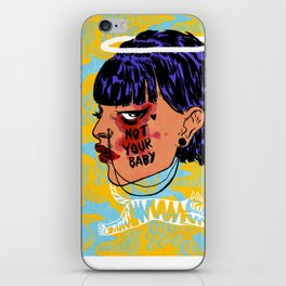 Not Your Baby iPhone Skin