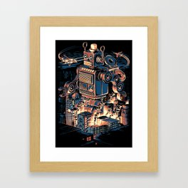 Night of the Toy Framed Art Print