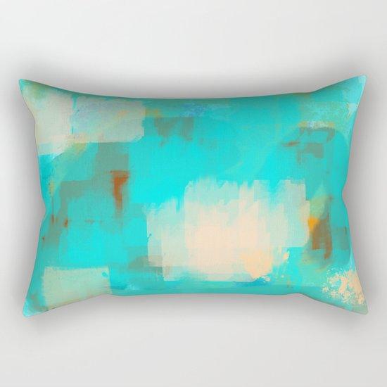 2 sided world Rectangular Pillow