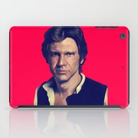 han solo iPad Cases featuring Han Solo  by Jemma Klein