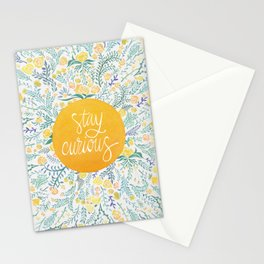 Stay Curious Stationery Cards