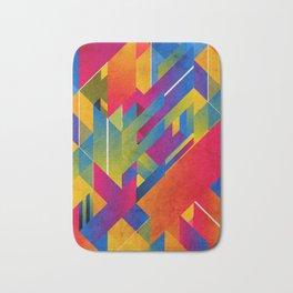 Geometric Play Bath Mat