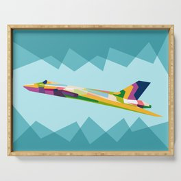 Colorful Jets Serving Tray