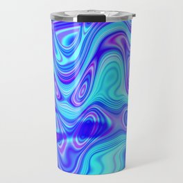 Vibrant oil slick Travel Mug