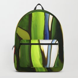 Fluid flowers Backpack