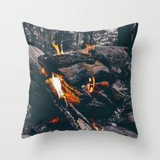 Burn Brightly Throw Pillow