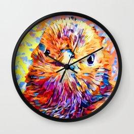 Baby Chick Wall Clock