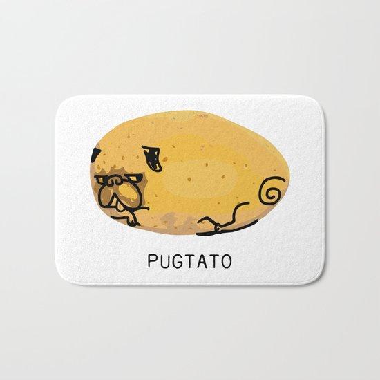 Pugtato Bath Mat