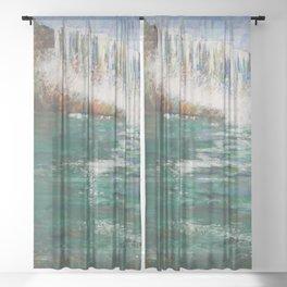 Niagara Thunder Sheer Curtain