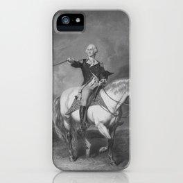 Washington Receiving A Salute At Trenton iPhone Case
