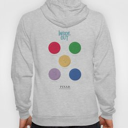 Inside Out - Minimal Movie Poster, animated movie, Hoody