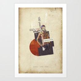 Centennial Art Print