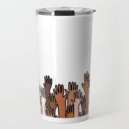 hands Travel Mug