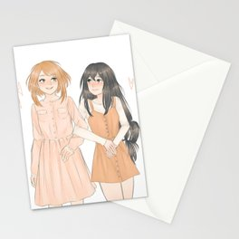 Uraraka and Tsuyu Stationery Cards