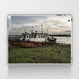 Old Police Boats Laptop & iPad Skin
