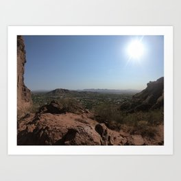 Views From the Camelback Mountain Art Print