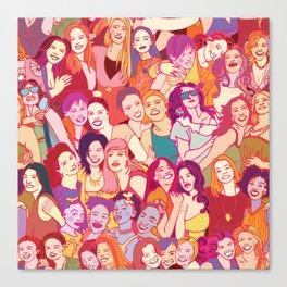 Yo girlfriend – U R my BFF!! Canvas Print