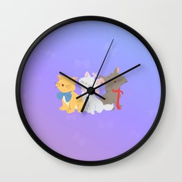 three aristocats..  Wall Clock