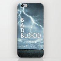 bastille iPhone & iPod Skins featuring Bastille - Bad Blood #2 by Thafrayer