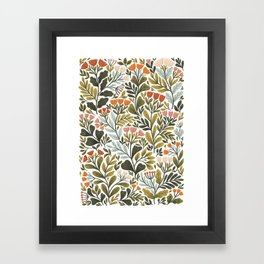 Month of May ~ white Framed Art Print
