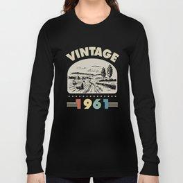 Birthday Gift Vintage 1961 Classic Long Sleeve T-shirt