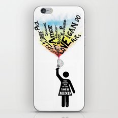 The Right way to use your mind iPhone & iPod Skin