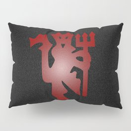 Red Devil Pillow Sham