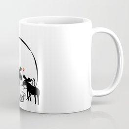 Moose in love Coffee Mug