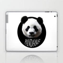 Panda cool man colors fashion Jacob's Paris Laptop & iPad Skin