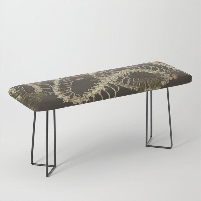 Snake Skeleton Bench