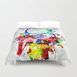 Dreamcatcher Grunge Duvet Cover