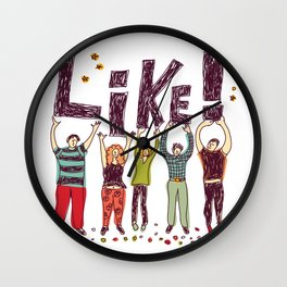 Like! Wall Clock