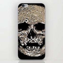 Full Skull With Rotting Flesh Vector iPhone Skin