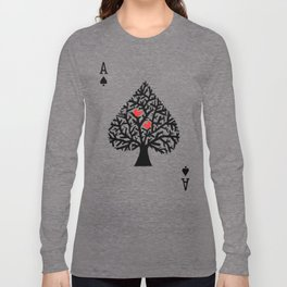 Ace of spade Long Sleeve T-shirt