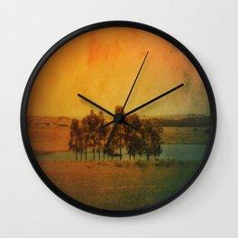Solitude Colors Wall Clock
