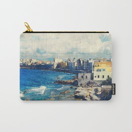 Trapani art 19 Sicily Carry-All Pouch