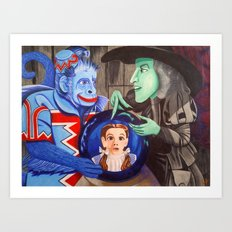 Wicked Witch Art Print