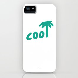 Cool Tropical Palm iPhone Case